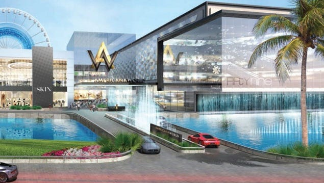 The proposed mall in Miami-Dade County.