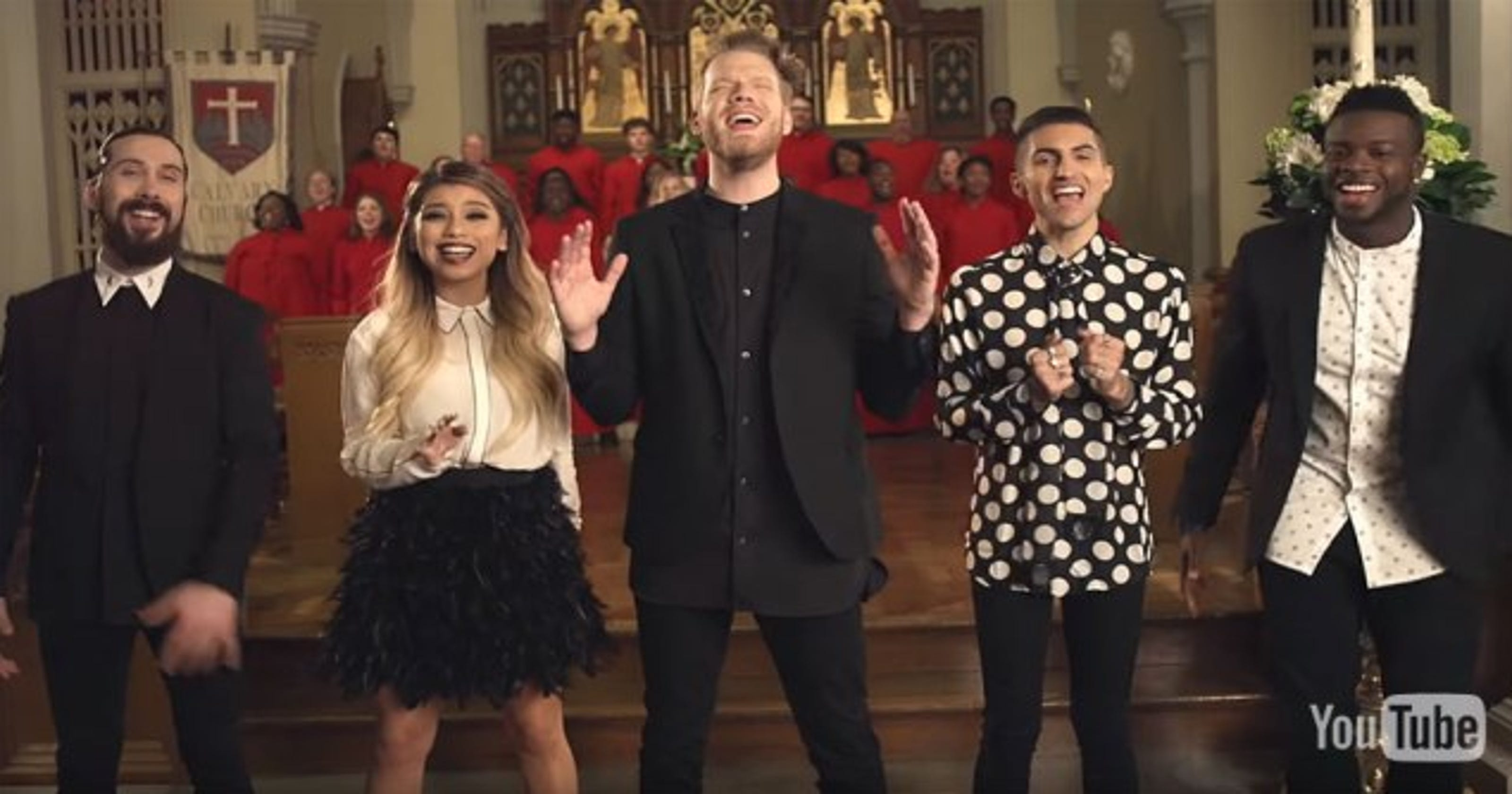 Pentatonix Christmas Youtube.Briarcrest S Onevoice Choir Featured In Pentatonix Video