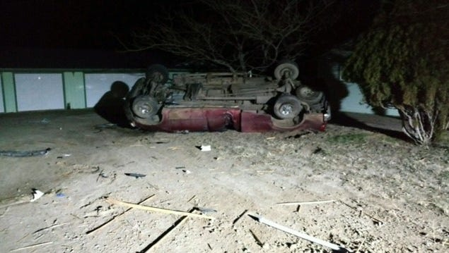 Wellington teen Raeme Shay Giovacchini, 18, died from injuries sustained Feb. 24 in a rollover car crash on Nevada 829 south  of Nevada 208 in Wellington.