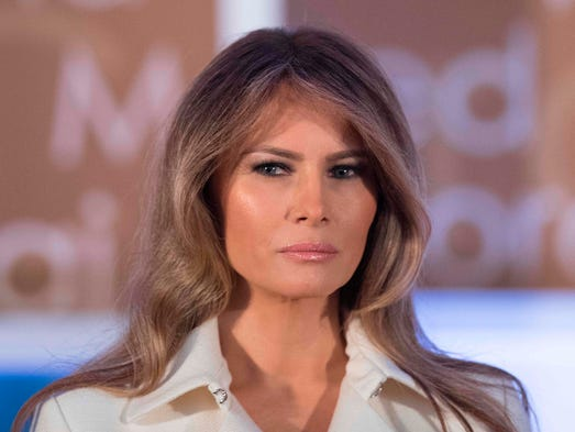 First lady Melania Trump attended the 11th  annual