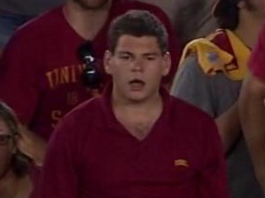 USC fans were shocked.