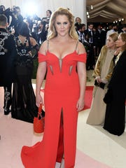 Amy Schumer hit the Met Gala in May.
