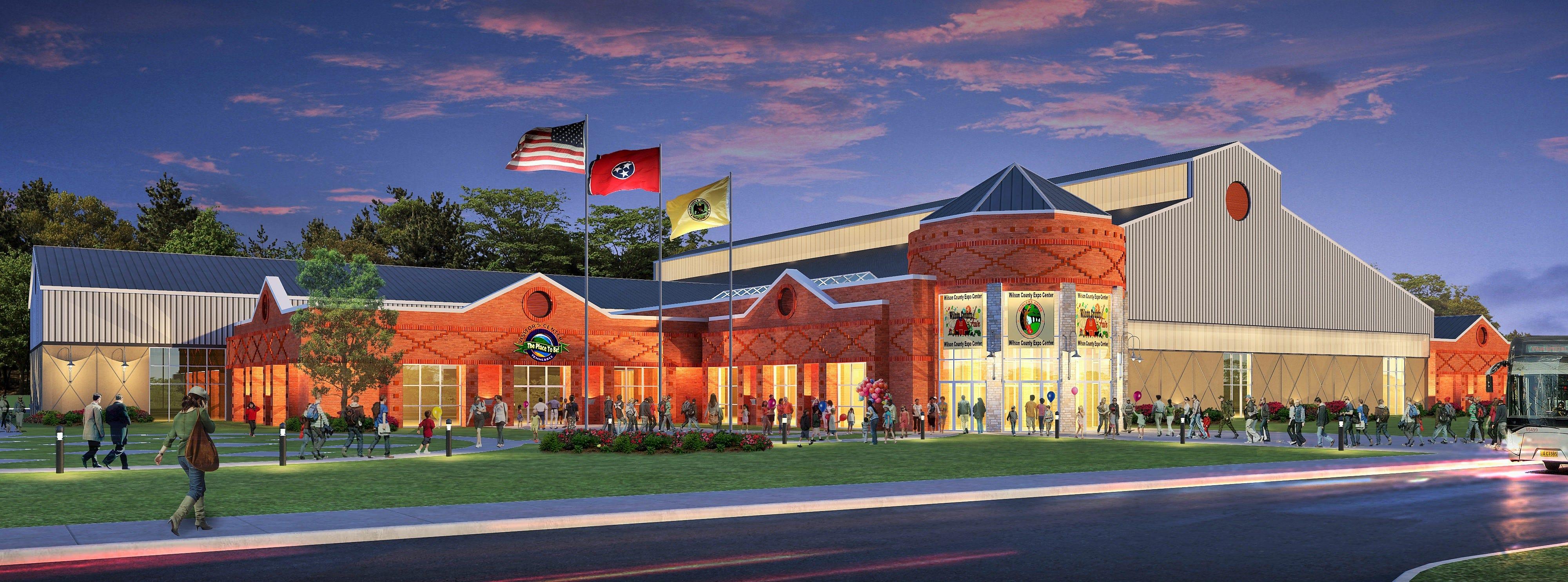 Home Expo Design Center Nashville Tn   Wilson County Approves Expo Center