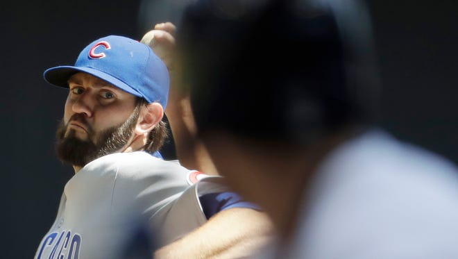 Former South Kitsap High standout Jason Hammel, who pitched most of the past three seasons with the Chicago Cubs, has reportedly signed a two-year deal worth $16 million with the Kansas City Royals.