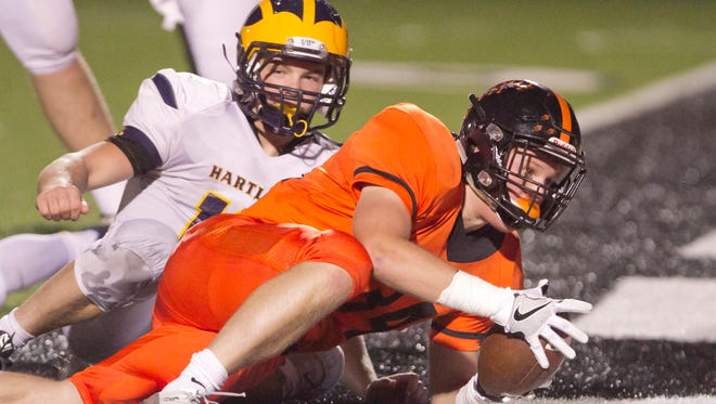 The football rivalry between Brighton and Hartland remains intact in the new KLAA Black Division.