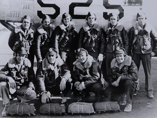 Henry Wynstra, back row third from right, stands with