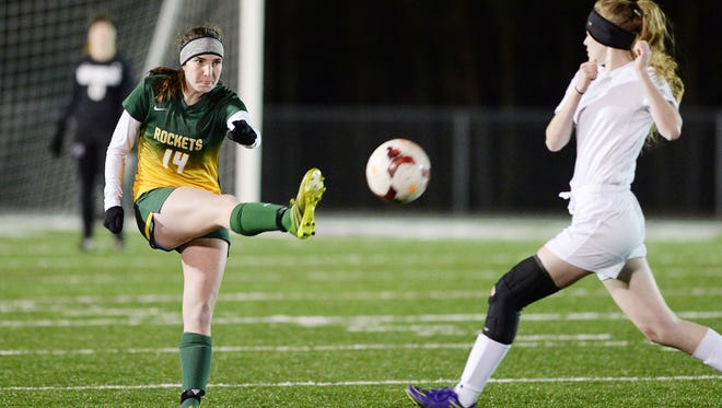 Reynolds senior Katie Kearns has been invited to this summer's East-West All-Star girls soccer game.