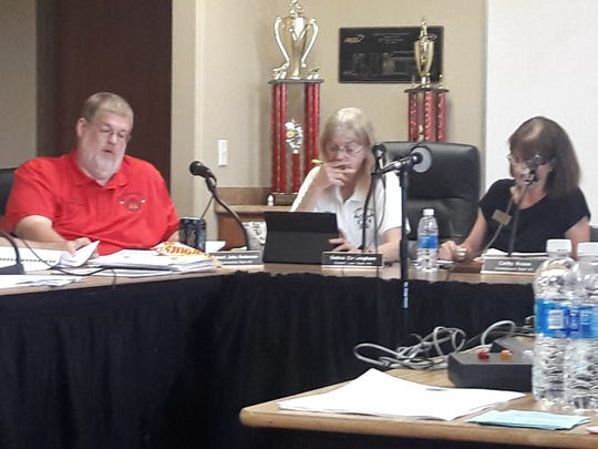 Lehigh Fire Commissioners Robert Anderson, Debra Cunningham