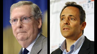 Mitch McConnell and Matt Bevin