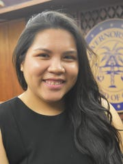 Amanda Blas, executive director of the Guam Commission on Decolonization.