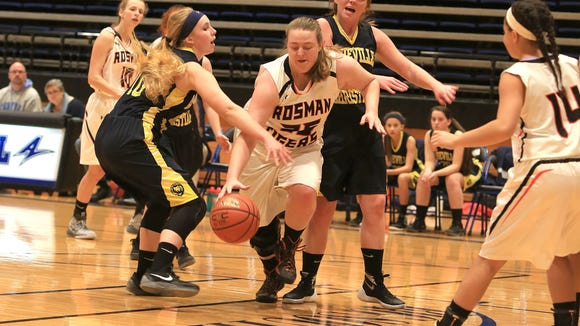 Rosman senior Rachel Owen has committed to play basketball for Brevard College.