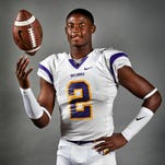 Smyrna's Ikenna Okeke was named the Region 2-6A Co-MVP on Wednesday. Okeke, a Texas A&M commitment, had 68 catches for 849 yards with two TDs and 13 carries for 61 yards. On defense, he had 74 tackles with two interceptions and a recovered fumble.