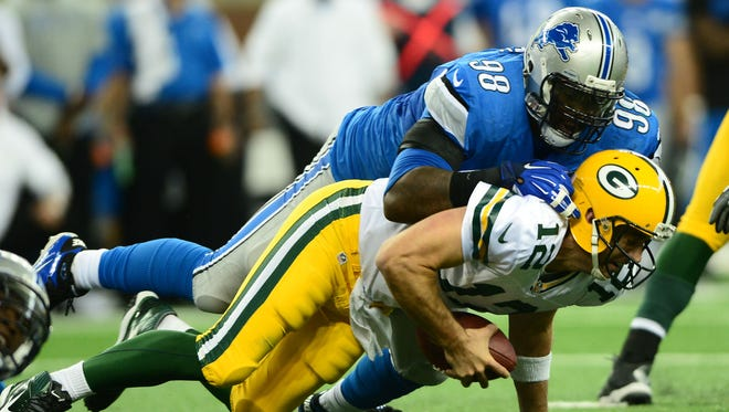 Defensive tackle Nick Fairley (98) has agreed to terms with the St. Louis Rams.