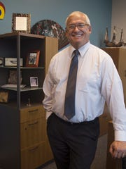 Randall Upchurch, the new director of Florida Gulf Coast University's School of Resort & Hospitality Management Lutgert College of Business at his office, January 20th 2015.