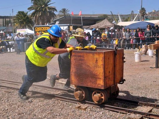 Mucking is among the mining skills that will be on