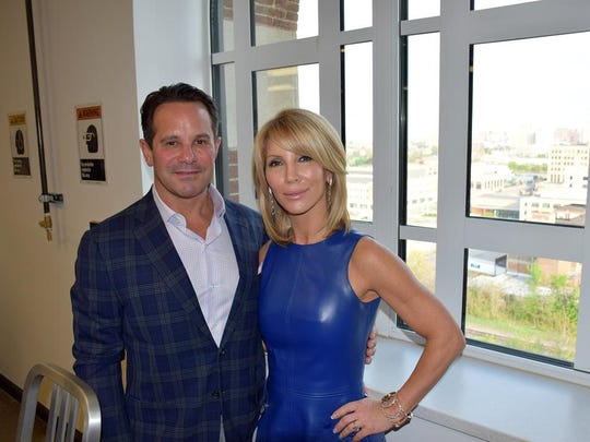 CCS donors Barry and Stephanie Zekelman at the Collector's Preview.