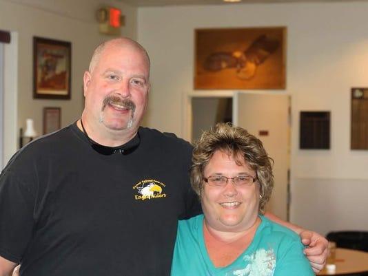Delbert Loomis and wife