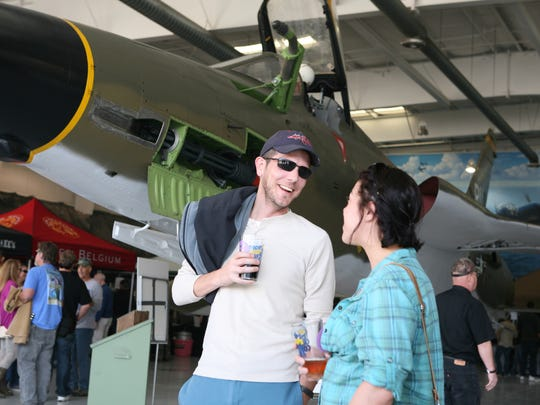 The Palm Springs Air Museum will host its annual Props & Hops Craft Beer Festival Saturday.