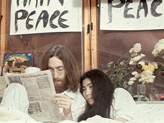 John and Yoko's Bed-In