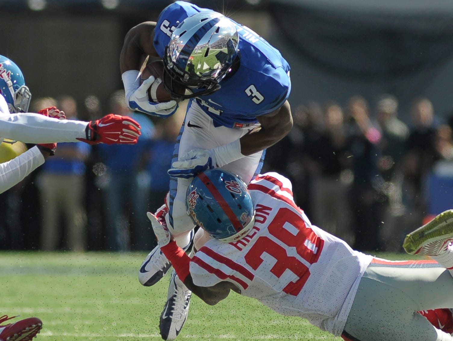 Ole Miss safety Mike Hilton was named a Jim Thorpe Award semifinalist.