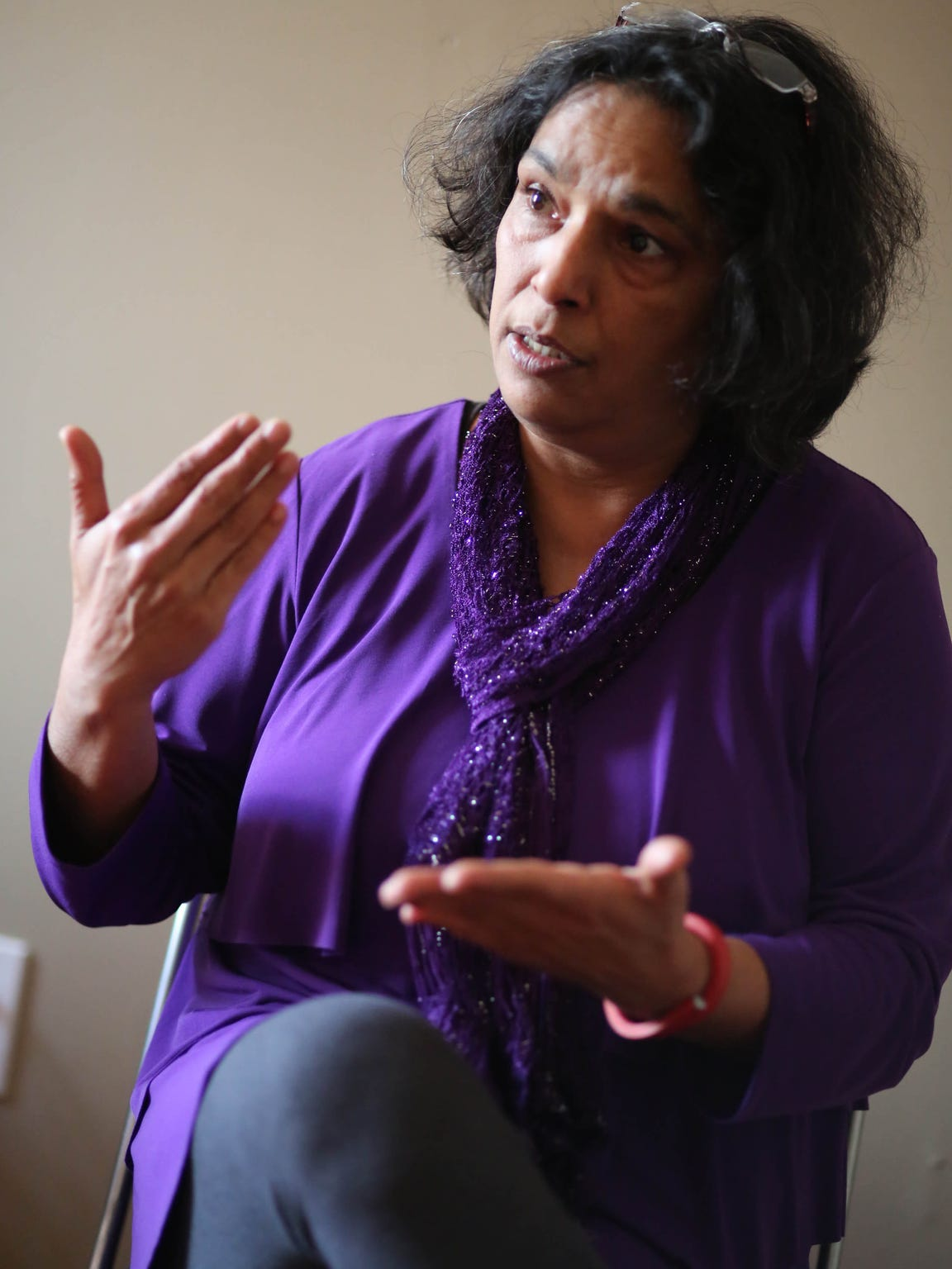 Rashmi Rangan, executive director of the Delaware Community