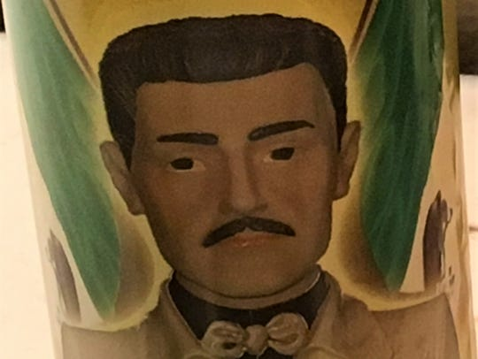 Jesus Malverde is considered the unofficial patron