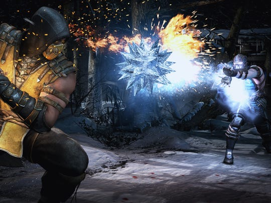 """Over-the-top fighting game action remains the calling card of """"Mortal Kombat X."""""""