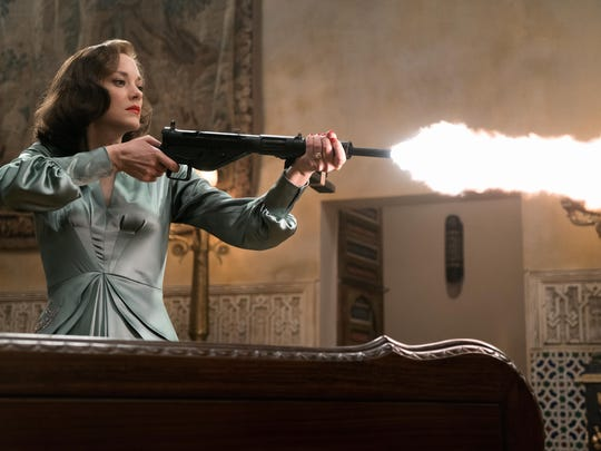 "Marion Cotillard plays Marianne Beausejour in ""Allied."""