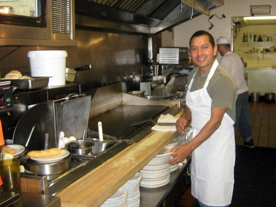 Raul Perez' Delafield restaurant, the Lumber Inn, serves