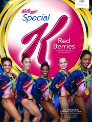 Kellogg's newest Special K Red Berries box features