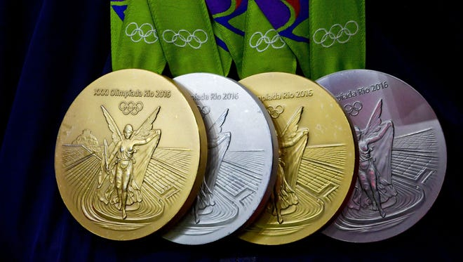 Athletes who participated in the Rio Olympics are having issues with their medals.