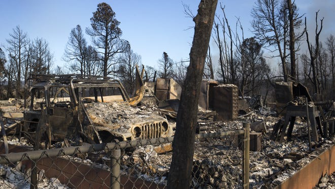 Larry Green's was destroyed by the Tinder Fire.