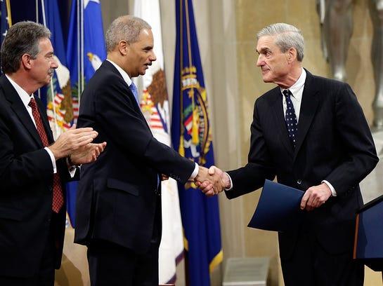 Robert Mueller says farewell