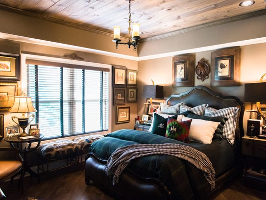 """The master bedroom called the """"Biltmore Suite"""" at Tim"""
