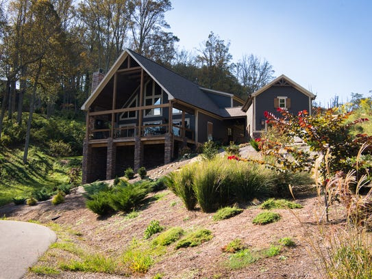 """Tim Hill's Asheville home called """"Hill Hall."""""""