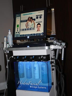 The HydraFacial machine is one of the new treatments available at Cloud 9 Salon and Spa in Florence.