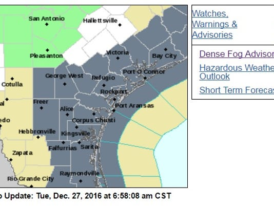 fog advisory 12.27.16