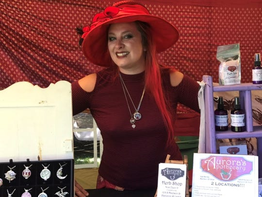Melissa Adelbush is the owner of Aurora's Apothecary,