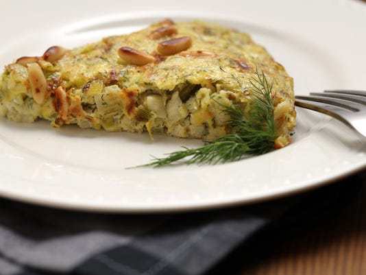 'Salt, Fat, Acid, Heat' cookbook inspires freestyle frittata recipe