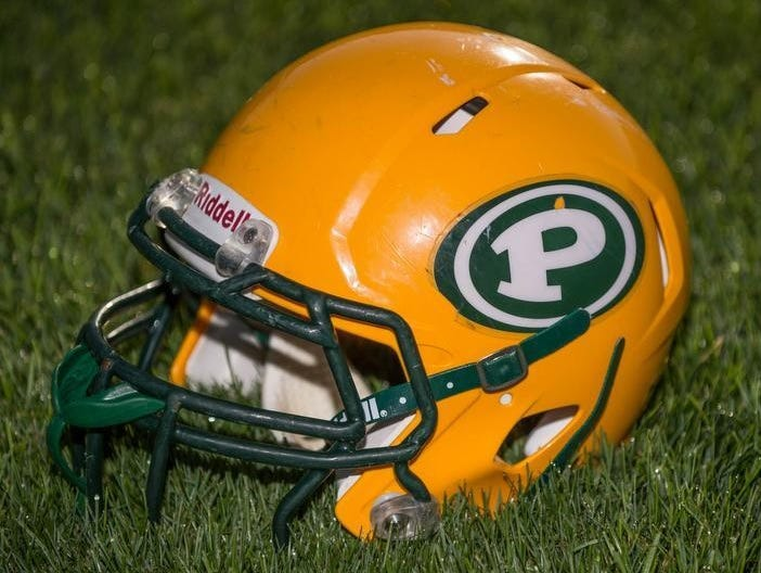 Pennfield football helmet.