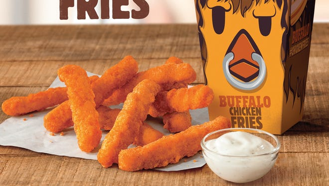 Burger King is spicing things up in the chicken fry department by offering Buffalo Chicken Fries for a limited time.