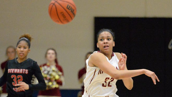Riverdale's junior Brinae Alexander is one of several college signees or prospects on the team.