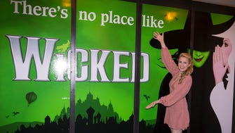 """Brentwood native Ginna Claire Mason plays Glinda in the Broadway touring production of """"Wicked,"""" which makes stops in Nashville and Memphis."""