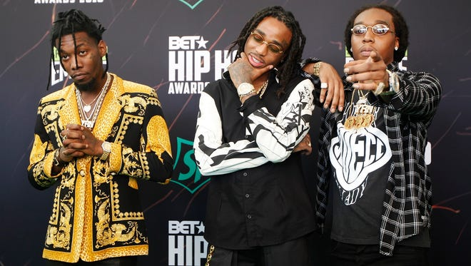 Migos will perform March 10 at the Pavilion at Pan Am.