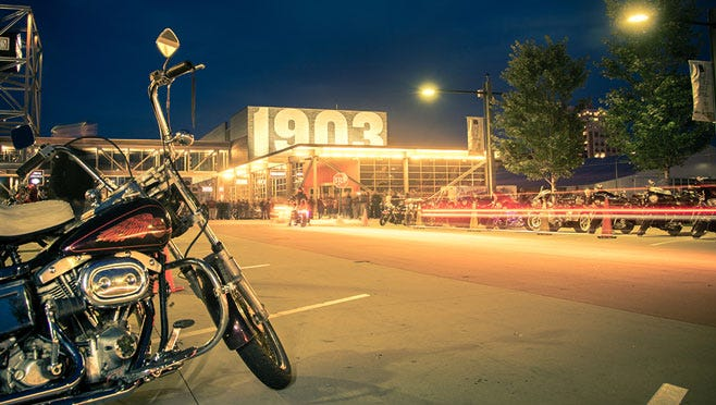 Enjoy acres of free outdoor activities all weekend long at the 115th Central Rally Point where H-D history and custom culture come to life.