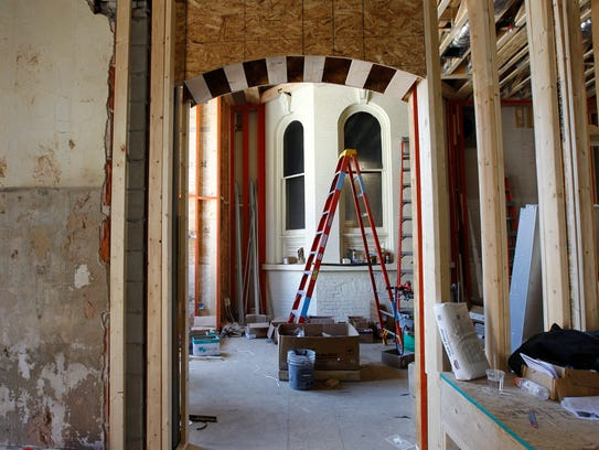 Work on the first phase of the Buckley's expansion