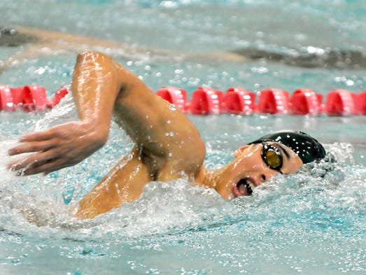 Ossining 39 S Alec Decaprio Dives To A Top Five Finish