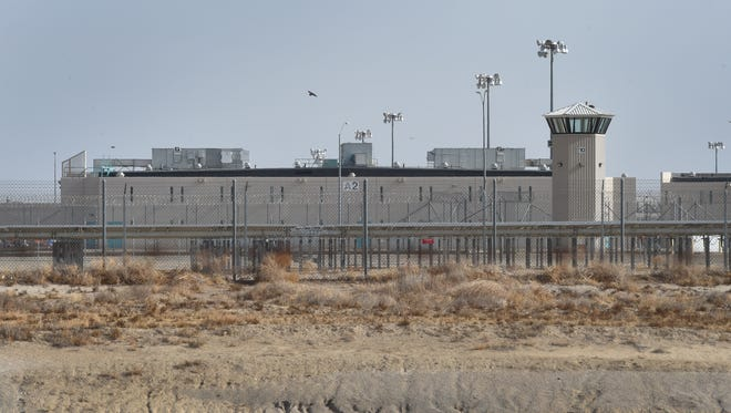 Facilities like the California State Prison, Los Angeles County, pictured here, are making room for inmates to physically distance during the coronavirus pandemic by releasing inmates who meet certain criteria early. Riverside County is expected to have more than 300 such inmates returned to the county from prisons managed by the California Department of Corrections and Rehabilitation in July and August 2020.