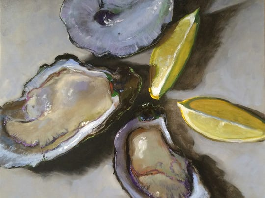 New Orleans artist Billy Solitario did the signature artwork for this year's Taste of  Mississippi.