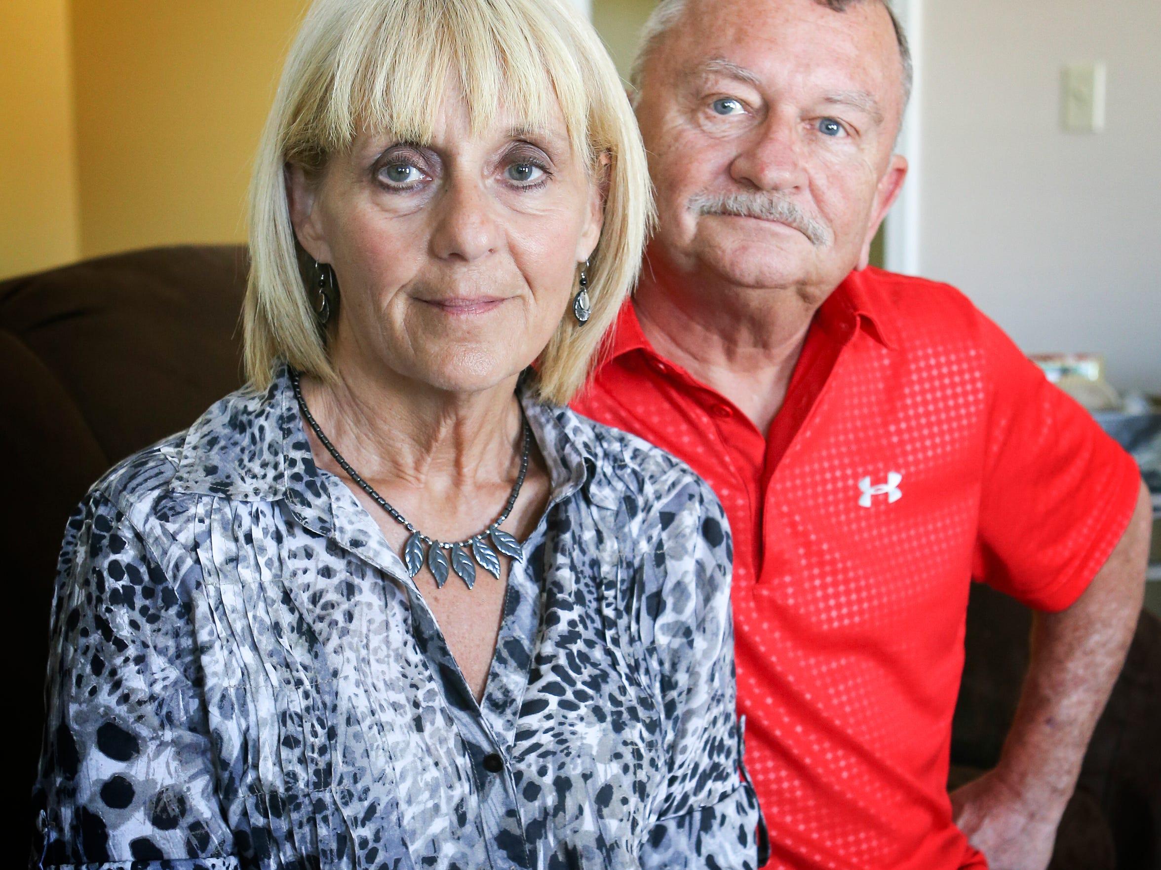 Brenda and Karl Cooley.May 13, 2016